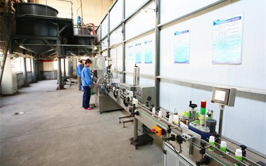液体肥生产现场